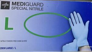 Gloves Nitrile 200, 1 box - 100 Pairs gloves LARGE