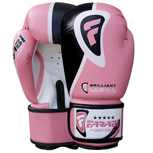 Farabi Boxing Gloves Brilliant Series, Training Punching Bag Sparring Gloves