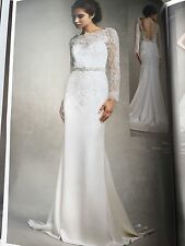 Enzoani Jordan Size 12 Wedding Dress