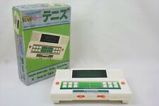 LCD JUNK TENNIS 2436 Hand Held Game LSI Game & Watch Not Working Boxed TOMY