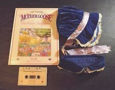 Talking Mother Goose Bk/Tape With Bonnet & Neck Scarf Birthday Surprise
