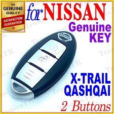 NISSAN X-TRAIL QASHQAI SMART KEY / INTELLIGENT KEY / 2 BUTTONS - T32 / J11