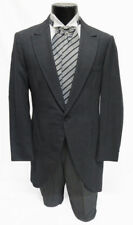 39L Charcoal Gray Cutaway Morning Coat Victorian Costume Dickens Caroling Cheap
