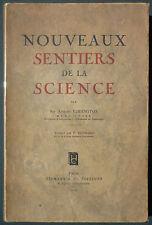 EDDINGTON - NOUVEAUX SENTIERS DE LA SCIENCE - 1936 - MESSENGER ASTROPHYSIQUE…