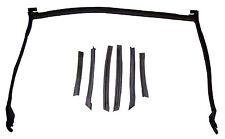 1995-2000 Cavalier, Sunfire convertible top front & side weatherstrip seal set