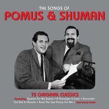 The Songs Of Pomus & Shuman - 75 Original Classics (3CD 2014) NEW/SEALED