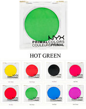 NYX Eyeshadow HOT GREEN PC08 Primal Colors Pressed Pigments Theatrical Makeup