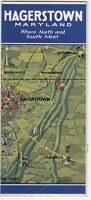 [27007] OLD HAGERSTOWN, MARYLAND VISITORS' GUIDE UNDATED BROCHURE