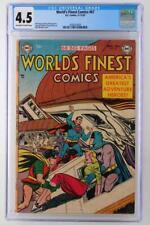 World's Finest Comics #67 - CGC 4.5 VG+ DC 1953 - Batman & Superman!