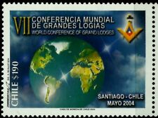 CHILE, VII WORLD MASONIC CONFERENCE, MNH, YEAR 2004