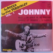 JOHNNY HALLYDAY (CD Single) LES ROCKS LES PLUS TERRIBLES VOL 1   NEUF SCELLE