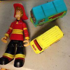 HOT WHEELS Ghost Clown, Fireman Shaggy, Scooby-Doo Mystery Machine Loose