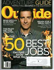 Outside Magazine September 2012 Bear Grylls