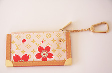 Authentic Louis Vuitton Takashi Murakami Cherry Blossom Key Chain F/S