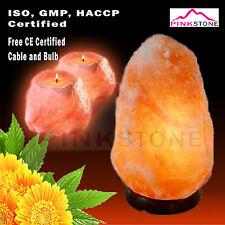 Himalayan Natural Salt 2 Candles &3-5 KG Air Purifier Lamp Relaxing Therapy set