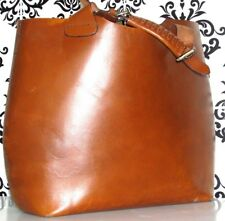 Cuero Real de gran tamaño de gran tamaño de Zara Mango Muñeca/Cartera Grande Shopper