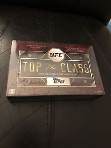 2016 Topps UFC Top Of The Class Factory Sealed Hobby Box