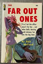 Far Out Ones by Dell Holland 1963 Playtime Books Beatnik Erotica Sleaze hippie