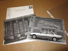 INFORMAZIONI STAMPA PEUGEOT 505 GTI ANNO 1986 MODELLO BERLINA