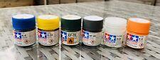 TAMIYA Model Paints Job lot. Brand New 6 x 10 Ml Acrylic Pots
