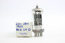 6211 TUBE. RCA PRODUCTION FOR IBM COMPANY. 1950´S. CRYOTREATED. RCH25V5F201015.