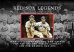 Red Sox Legends (MA) (Images of Baseball)-ExLibrary
