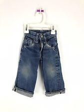 Vintage 50s Levi's Denim Jeans Youth 503ZXX Big E Pants Kids Toddler Rivets Blue