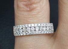 DEAL 0.60CT NATURAL ROUND DIAMOND LADIES ENGAGEMENT WEDDING BAND RING  14K GOLD.
