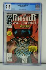 MARVEL COMICS CGC 9.8 THE PUNISHER WAR JOURNAL #6 6/89 WHITE PAGES