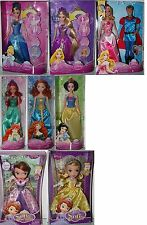 Disney- Poupée Mattel-Choisir :Sofia Arielle Princesse, la Belle au Bois Dormant