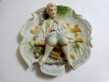VINTAGE MADE IN JAPAN CHASE HAND PAINTED 3D WALL HANGING/ PLATE/ PLAQUE