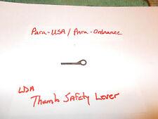 Para-USA LDA thumb safety lever