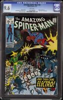 Amazing Spider-Man # 82 CGC 9.6 White (Marvel, 1970) Electro cover & appearance