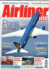 Airliner World 2015 August Hainan Airlines,United,Boeing 747