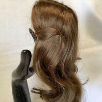 Hand Styled Doll Wig Global Dolls Carmen 11-12 Lt Brown Hair NOS Modacrylic
