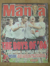 FOOTBALL WORLD CUP 2006 GERMANY - THE BOYS OF 06 - WORLD CUP MANIA MAGAZINE