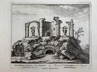 Aqua Marcia Aquädukt Rom Antike Ruine Rome Kaiser Trajan Aqueduct 1702 Italy