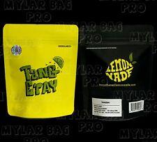 50CT SNOWMAN Cookies Mylar Bags 3.5G  Zip Lock Bags *FREE STICKERS /& LABELS*