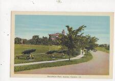Battlefields Park Quebec Vintage Postcard Canada 515a