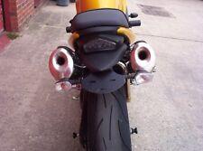 R&G Tail Tidy / Licence Plate Holder Triumph Speed Triple 1050 2007 LP0014 Black