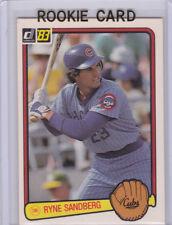 RYNE SANDBERG ROOKIE CARD 1983 Donruss VINTAGE BASEBALL RC Chicago Cubs MLB HOF!