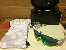 NEW OAKLEY - Jawbreaker AF - Polished White w/ Jade Iridium, OO9270-02