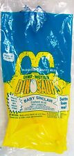 1992 Vintage McDonald's Happy Meal Dino-Motion Dinosaurs Baby Sinclair MIP C10!