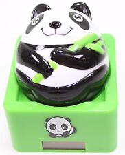 Eco-Friendly Lovely Round Panda Solar Toy Panda Lover Gift Home Decor US Seller