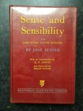 Sense & Sensibility Lady Susan The Watsons Jane Austen 1958 UK Hardback edition