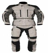 Tuta completo giacca e pantaloni per moto da turismo con protezioni imbottito +