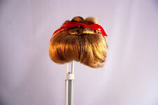 "Doll Wig SIZE 8""- 9"" LILLIAN STYLE DOLL WIG - Honey BLONDE #28"