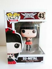 Funko Pop Rock #43 Baby Metal Su-Metal Vinyl Figure F/S Japan