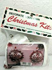 Merri Mac Christmas Ornament Craft Kit Fire And Ice 86-09