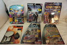 VINTAGE STAR TREK ACTION FIGURES LOT 5 PLAYMATES 1993 1996 MOC DUKAT MCCOY